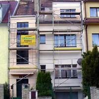 Oprava fasády RD Jinonická č.54, rok 2005.