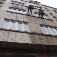 Vršovická 85, Praha 10 - čištění keramické fasády