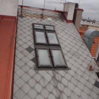 Havelská 23, Praha 1 – oprava střechy a komínů nad střechou domu
